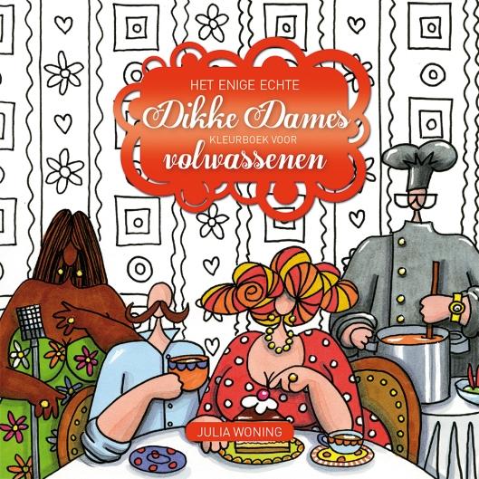 DikkeDameskleurboek